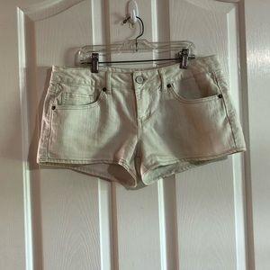 Blue Jean shorts juniors size 11 brand SO